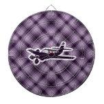 Purple Plane Dart Board