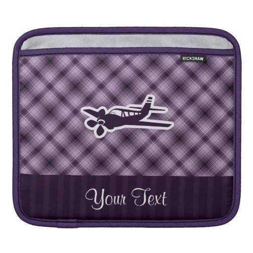 Purple Plane iPad Sleeves