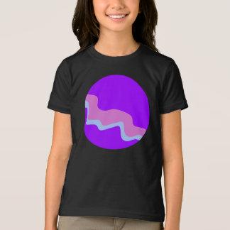 Purple Planet Girls T-Shirt