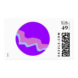 Purple Planet Postage
