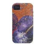 PURPLE PLANETS iPhone 4/4S COVERS