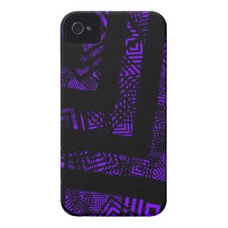 Purple Plank iPhone 4 Case
