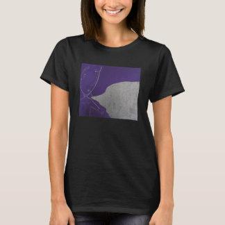 Purple Plastic Bubble Boy T-Shirt