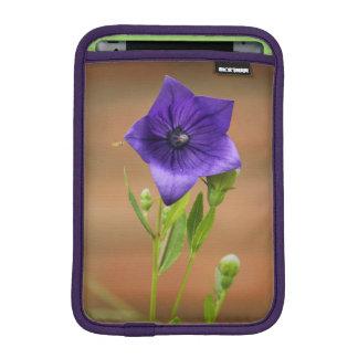 Purple Platycodon iPad Mini Sleeves