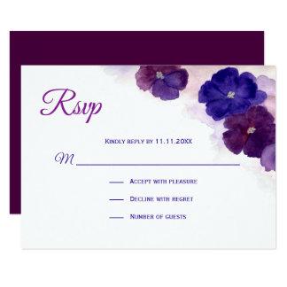 Purple And Blue Wedding Invitations & Announcements | Zazzle