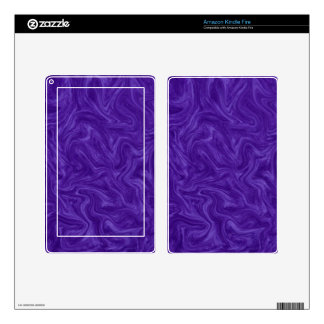Purple Plum Tonal Abstract Swirled Background Kindle Fire Skins