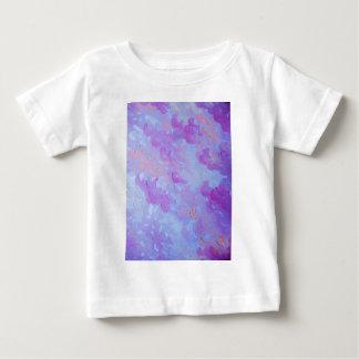 PURPLE PLUMES - Soft Pastel Wispy Lavender Clouds Baby T-Shirt