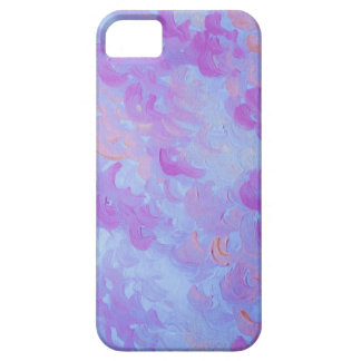 PURPLE PLUMES - Soft Pastel Wispy Lavender Clouds iPhone 5 Covers