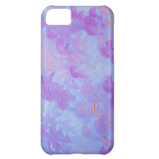 PURPLE PLUMES - Soft Pastel Wispy Lavender Clouds iPhone 5C Cases