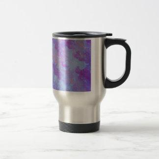 PURPLE PLUMES - Soft Pastel Wispy Lavender Clouds Mug
