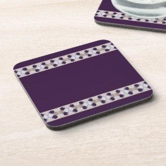 Purple Plums Drink Coaster
