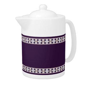 Purple Plums Teapot