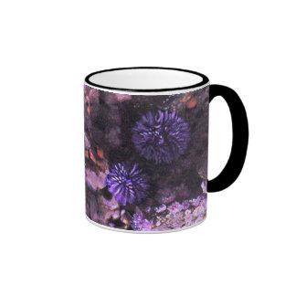 Purple Plush Ringer Coffee Mug