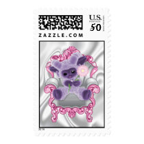 Purple Plushy Baby Sheep Postage
