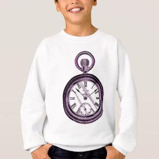 purple pocket watch sweatshirt