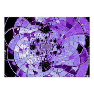 Purple Polar Inversion by Lina 2014 Posters