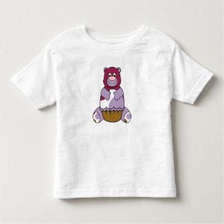 Purple Polka Dot Bear T Shirts