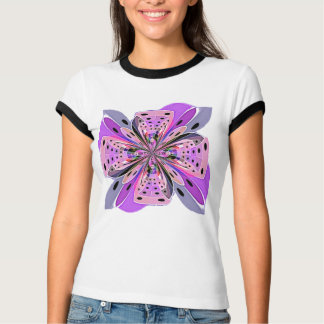 Purple Polka Dot Bow Shirt