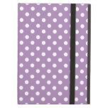 Purple Polka Dot iPad Air Case