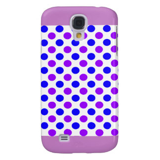 Purple Polka Dots - Girly iPhone Cases Galaxy S4 Covers
