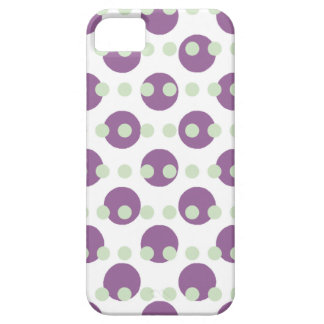 Purple Polka Dots iPhone SE/5/5s Case