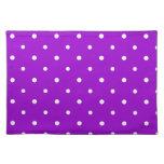 Purple Polka Dots Placemat