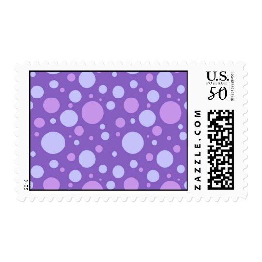 ~~Purple Polka Dots Postage