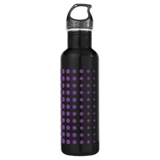 Purple Polkadot Water Bottle