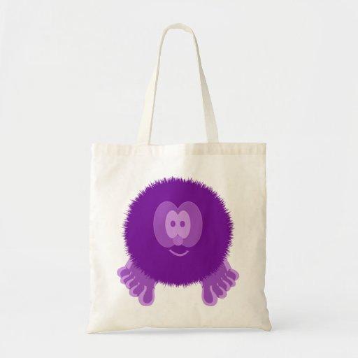Purple Pom Pom Pal Bag