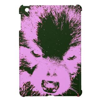 Purple Pomeranian iPad Mini Cover