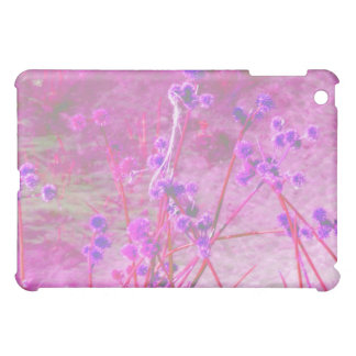 Purple pond plants background case for the iPad mini