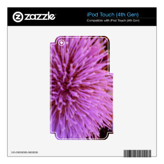 purple pop decals for iPod touch 4G