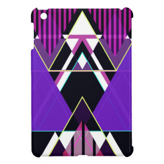 Purple Pop Triangular iPad Mini Cover