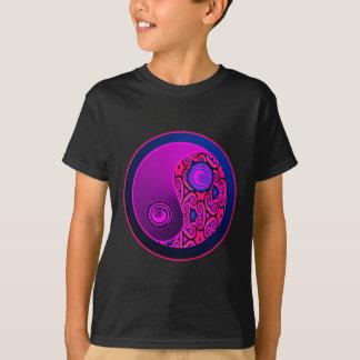 Purple Pop Yin Yang T-Shirt