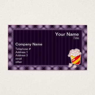 Purple Popcorn Business Card