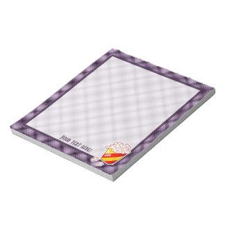 Purple Popcorn Notepad