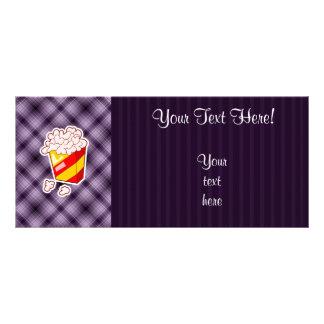 Purple Popcorn Rack Card
