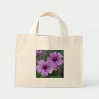 Purple Poppies Mini Tote Bag