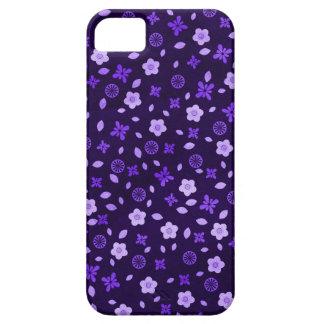 Purple Posies iPhone SE/5/5s Case