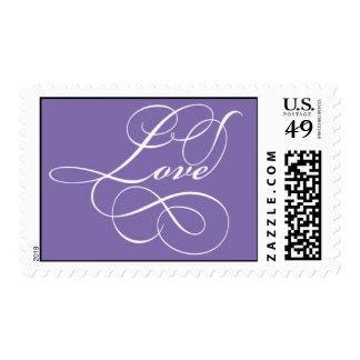 Purple Postage Stamps