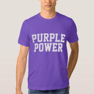 Purple Power American Made T-shirt