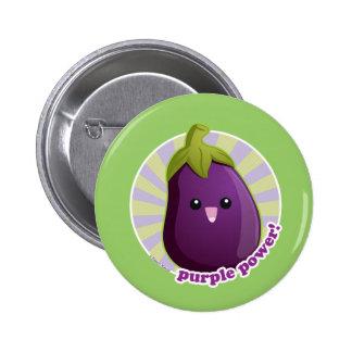 Purple Power! Pinback Button
