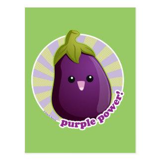 Purple Power! Postcard