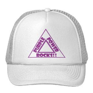 Purple Power Rocks - Hat