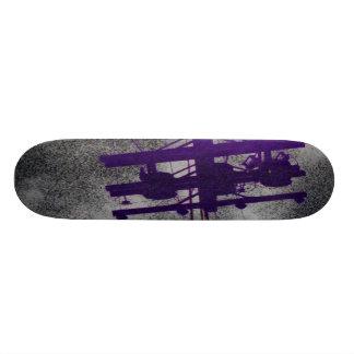 Purple Power Skateboard