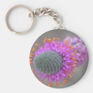 Purple Prairie Clover Keychain