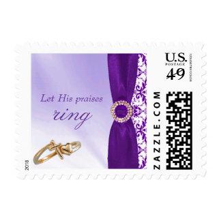 Purple Praises Stamp