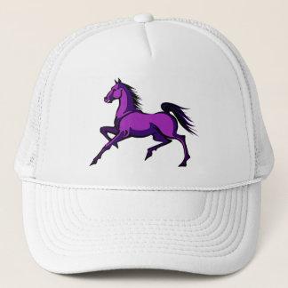 Purple Prancing Horse Hat