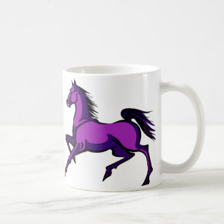 Purple Prancing Horses Mug