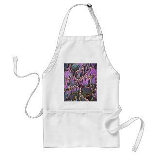 Purple Prickly Pear Adult Apron